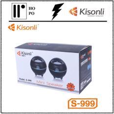 Loa Vi Tính Kisonli S-999 – BH 1 Đổi 1 – 10 tháng + 2