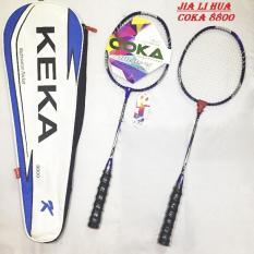 Bộ 2 vợt cầu lông COKA 8800 cao cấp