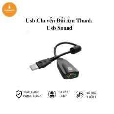 USB Chuyển đổi âm thanh sang rắc 3.5 usb sound card audio cho PC, laptop – Pukimati