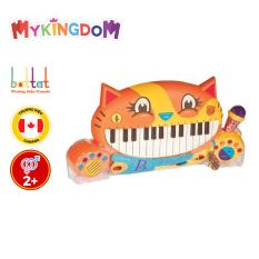 [18-24h 10/6 Voucher giảm thêm 70k] Đồ Chơi Đàn Piano Mèo Con B.Brand BX1025Z