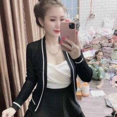 Áo Khoác Cardigan Len Mỏng Sang Chảnh- Hàng Quảng Châu xịn xò chuẩn hàng shop