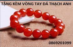 Vòng tay đá thạch anh đỏ 12ly