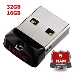 Usb 32GB, 16GB Sandisk CZ33 cho xe hơi bảo hành 5 năm