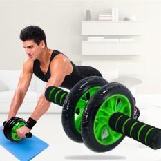 Con lăn tập cơ bụng bánh xe AB New, con lăn 2 bánh tập bụng làm săn chắc cơ bụng, làm giảm mỡ bụng, giảm cân, giảm eo, chịu lực tốt – kèm thảm lót bst6007903