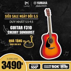 【Giá chỉ 3.490K – Tặng Chân đàn guitar QuikLok GI/8 350K】Đàn guitar Acoustic Yamaha F310 – Top Spruce, Gỗ Back & Side Tonewood, Xuất xứ Indonesia – Bảo hành chính hãng 12 tháng