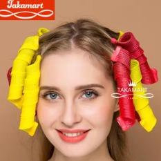 Lô uốn tóc xoăn 18 ống Curlformer dài 15cm, Tạo kiểu tóc xoăn tự nhiên, không dùng nhiệt, Lô cuốn tóc xoăn, Lô tạo kiểu tóc, Lô tạo kiểu tóc xoăn gợn sóng