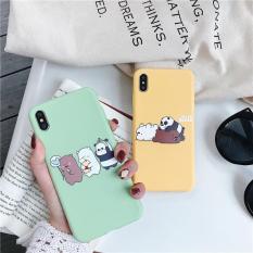 Ốp Lưng 3 Chú Gấu iPhone Dẻo ( Từ 6 đến XS MAX ) [ TI STORE ]