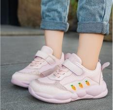 Giày thể thao dễ thương in hình củ cà rốt cho bé gái từ 3 đến 15 tuổi TTA22