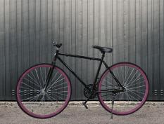 Xe đạp thể thao FIXED GEAR-Không cần phanh đạp ngược là phanh-Hợp kim thép carbon siêu nhẹ-Trẻ trung cá tính dành cho dân sành điệu-Hahoo-Bảo hành 12 tháng 1 đổi 1