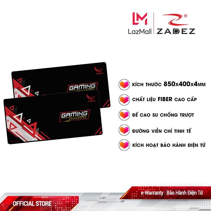 Bàn di chuột Gaming ZADEZ GP-850W (850x400x4 mm)