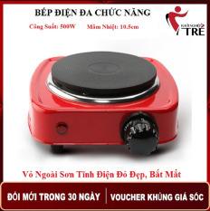 Bếp Điện Mini 500W Dành Cho Sinh Viên, Văn Phòng, Pha cafe