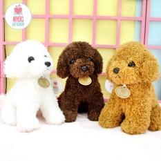 Nhóc – Thú bông chó Poodle lông chỉ, đa dạng mẫu mã, màu sắc, chất lượng đảm bảo và cam kết hàng đúng như mô tả