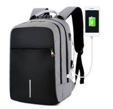 Balo NEW-0003 vừa laptop và a4 có lỗ sạc lỗ tai nghe và khóa mã số tiện dụng chất liệu chống thấm nước ( tặng kèm cáp nối sạc tiện lợi )