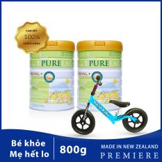 [Tặng 1 xe thăng bằng] Khi mua 2 Sữa PureLac nhập khẩu NewZealand cho trẻ 0-6 tháng
