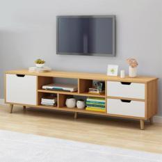 Kệ tivi cao cấp có nhiều ngăn để đồ, kệ tivi mẫu đẹp BAH014