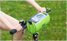 Túi đeo chéo kiêm túi treo xe đạp chống nước để vật dụng khi chạy xe cho người thể thao cực tiện dụng