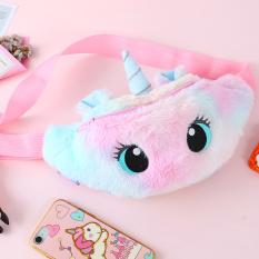 [HCM]Túi bao tử Unicorn cho bé gái bằng bông mịn màu pastel ngộ nghĩnh đáng yêu BBShine – TX037