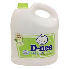 Nước giặt quần áo D-nee Organic Xanh Lá 3L