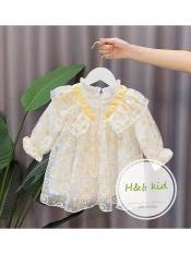 đầm baby doll hoa cúc cho bé 8-18kg