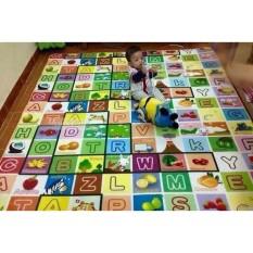Thảm xốp 2 mặt cho bé Maboshi 200x160x0.5 cm