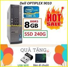 Thùng Dell optiplex 7010 Core i5 3470 / 8G / SSD 240G , Khuyến Mai USB wifi , Bàn di chuột – Bảo hành 12 tháng