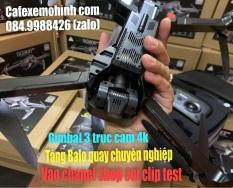 Flycam Sg906 Pro 2 Gimbal 3 trục Cam 4k quay chuyên nghiệp tặng Balo