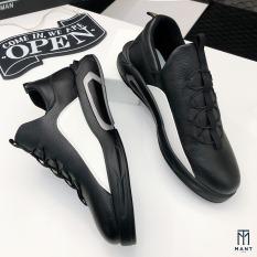 Giày thể thao nam da nhập Poly Synthetic dây buộc phong cách LC11