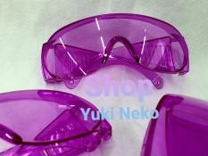 Kính bảo hộ thời trang bảo vệ mắt màu violet