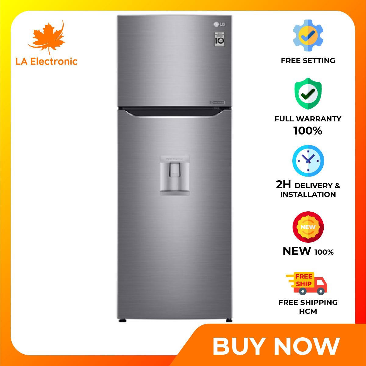 Trả Góp 0% – Tủ Lạnh LG Inverter 255 lít GN-D255PS- Bảo hành 2 năm – Miễn phí vận chuyển HCM