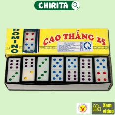 Bộ Cờ DOMINO CAO THẮNG – Cờ Domino Nhựa Cao Cấp Đẹp, Boardgame, Đồ Chơi Trẻ Em CHIRITA