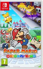 Đĩa Game Nintendo Switch : Paper Mario: The Origami King US