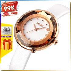 [TẶNG HỘP VÀ PIN] Đồng hồ nữ đẹp SKMEI 1707 đồng hồ nữ chính hãng giá rẻ thời trang cho phái đẹp