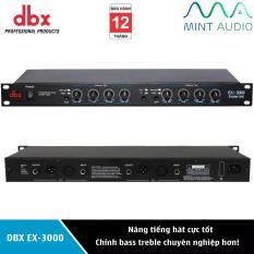 Máy nâng tiếng hát DBX EX-3000 – Chỉnh âm bass treble chuyên nghiệp