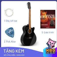 [TẶNG KÈM KHÓA HỌC] Đàn Guitar Acoustic KBD -10 + pick gảy , giáo trình online hướng dẫn cho người mới tập chơi.
