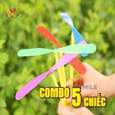 (Combo 5 chiếc) Đồ chơi chong chóng tuổi thơ, đồ chơi vận động cho trẻ phát triển kỹ năng khéo léo của đôi tay và vui chơi thư giãn