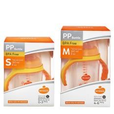 Bình sữa Wesser cổ rộng PP Bottle kháng khuẩn 180ml/ 260ml cho bé – BEEKIDS PLAZA