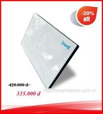 CÔNG TẮC CẢM ỨNG ĐIỀU KHIỂN TỪ XA 315Mhz SK-A0801W ( màu trắng)