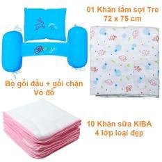 Set 13 món phụ kiện an toàn cho trẻ sơ sinh KT2GVD10KS4KB – KIBAshop