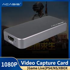 Acasis Hộp Thẻ Thu Phát Trực Tiếp Trò Chơi HDMI HD Hộp Điều Khiển Trò Chơi Máy Tính PS4/Swith NS Betta Ghi Hình HD USB3.0 1080P Yy Tiger Teeth OBS Sống Chuyên Dụng