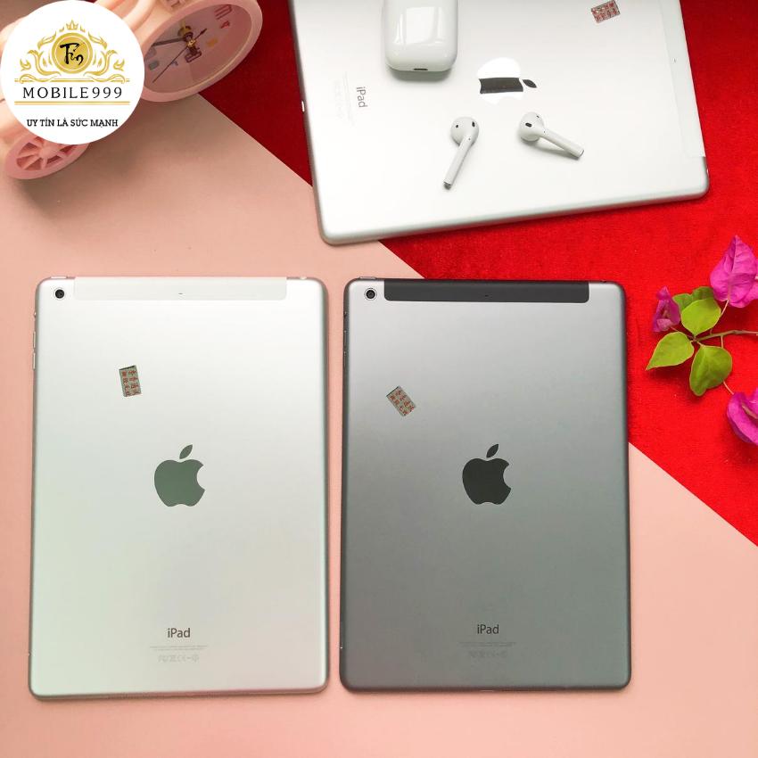 iPad Air 1 (Wifi + 4G) 16G /32G /64GB Chính Hãng – Zin Đẹp – Màn Retina sắc nét – Tặng phụ kiện + Bao da – 1 đổi 1 30 ngày – BH 6 tháng – MOBILE999