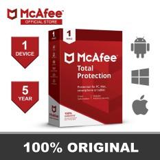 Phần Mềm Diệt Virus McAfee Total Protecion 1 PC / 5 Year