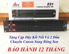 Mua Ngay Lọc Xì DBX 231 Tặng Cặp Dây Kết Nối Và 2 Đầu Chuyển Canon Sang Bông Sen