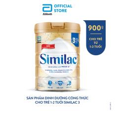 Lon Similac Einstein 3 900g sản phẩm dinh dưỡng công thức cho trẻ 1-2 tuổi