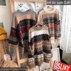 Áo len thổ cẩm họa tiết siêu ấm, siêu xinh – SIKY