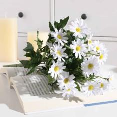 Hoa Giả-Hoa Cúc Họa Mi Giả, Hoa Lụa, Hoa trang trí bền đẹp với thời gian- 1 cành dài 30cm