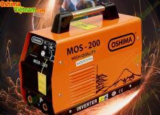 Máy hàn điện tử Oshima MOS200, máy hàn kim loại oshima
