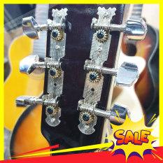 Bộ Khóa tay vặn cho guitar – Khóa si inox guitar Acoustic