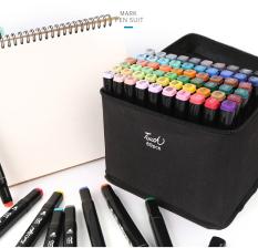 Bộ 48 bút maker Touchshi có túi vải đựng siêu sang siêu tiện ích