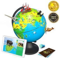 Quả địa cầu thông minh Shifu Orboot cho trẻ tiểu học và trung học yêu thích du lịch, phưu lưu và khám phá