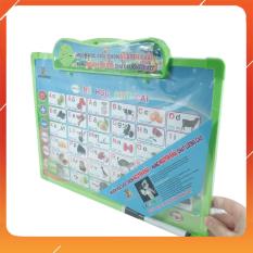 Đồ Chơi Noel – Dụng Cụ Hỗ Trợ Giáo Dục Bảng Chữ Cái Điện Tử Pin – Đồ Chơi Trẻ Em Toy Mart